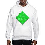 I Kicked Grass Hooded Sweatshirt