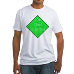 I Kicked Grass Fitted T-Shirt