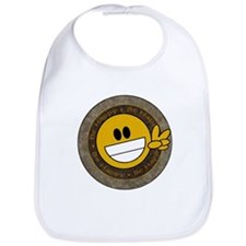 Urban chic Peace Smilie Bib