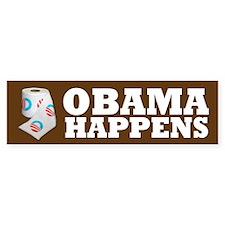 Obama Happens Bumper Sticker (10 pk)