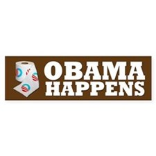 Obama Happens Bumper Bumper Sticker