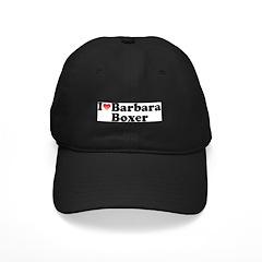 I Love Barbara Boxer Baseball Hat