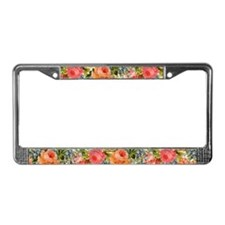 Cute Decorative License Plate Frame