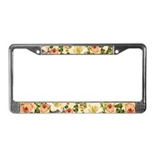 Unique Decorative License Plate Frame