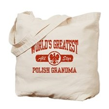 World's Greatest Polish Grandma Tote Bag
