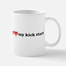 I Love My Kick Start Mug