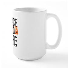 Leukemia PeaceLoveCure Mug