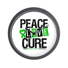 Kidney Cancer Cure Wall Clock