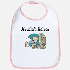 Abuela's Helper (Computer) Bib