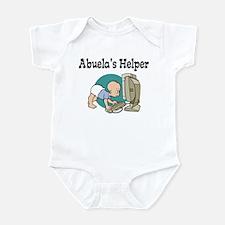 Abuela's Helper (Computer) Infant Bodysuit
