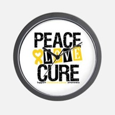 Childhood Cancer Cure Wall Clock