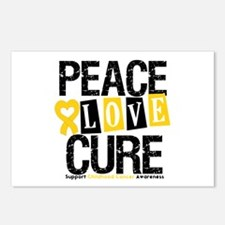 Childhood Cancer Cure Postcards (Package of 8)