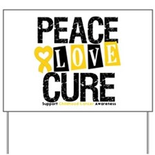 Childhood Cancer Cure Yard Sign