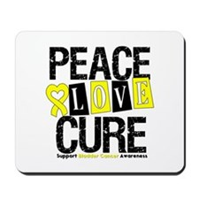 Bladder Cancer Cure Mousepad
