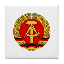East Germany 1959-1990 Tile Coaster