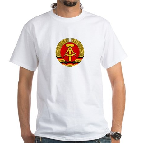 East Germany 1959-1990 White T-Shirt
