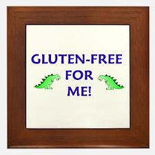 GLUTEN-FREE FOR ME! Framed Tile