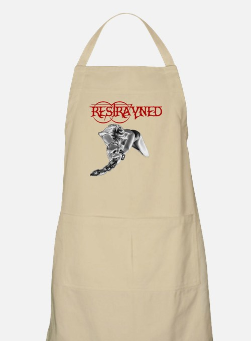 Restrayned Girl in Chains BBQ Apron