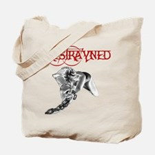 Restrayned Girl in Chains Tote Bag