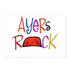 Ayers Rock boutique Postcards (Package of 8)