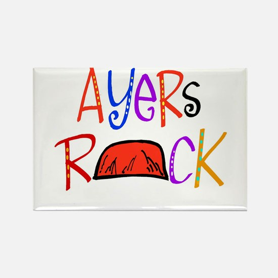 Ayers Rock boutique Rectangle Magnet