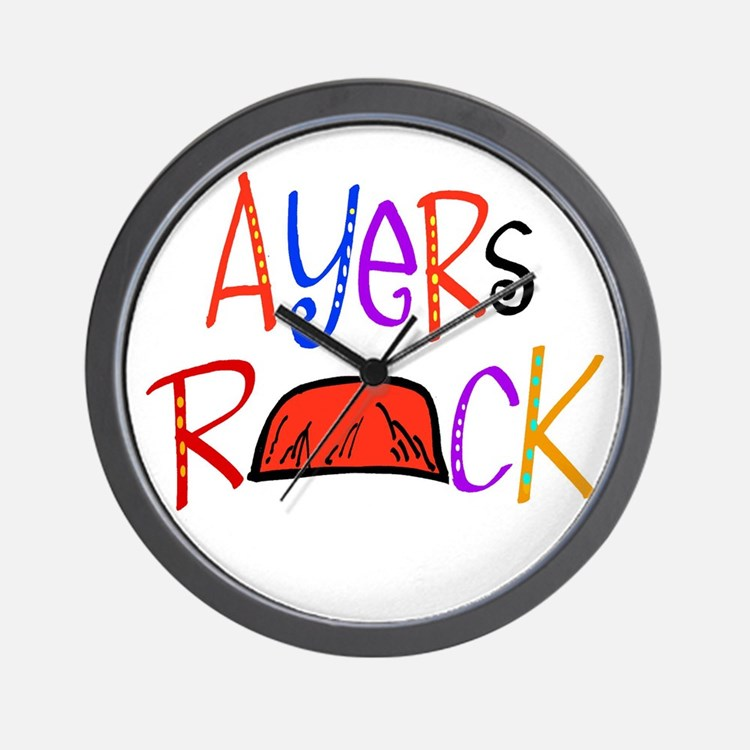 Ayers Rock boutique Wall Clock