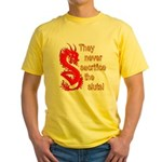 Sacrifice the Sluts Yellow T-Shirt