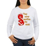 Sacrifice the Sluts Women's Long Sleeve T-Shirt