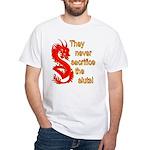 Sacrifice the Sluts White T-Shirt
