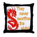 Sacrifice the Sluts Throw Pillow