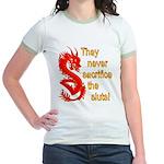 Sacrifice the Sluts Jr. Ringer T-Shirt