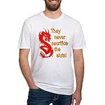 Sacrifice the Sluts Fitted T-Shirt