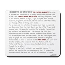 Nicene Creed Mousepad
