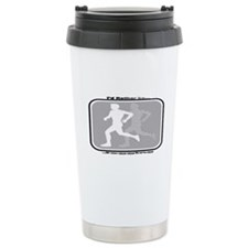 I'd Rather Be Jogging Travel Coffee Mug