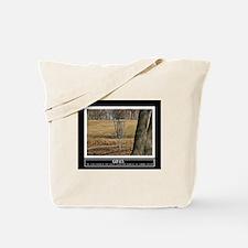 Disc Golf Motivational Tote Bag
