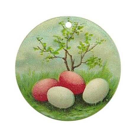 """""""Easter Eggs"""" Ornament (Round)"""