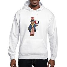 Patriotic Bear Hoodie