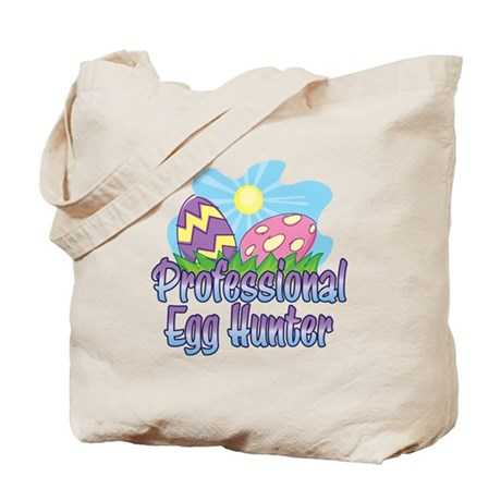 PROFESSIONAL EGG HUNTER Tote Bag