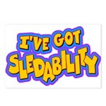 Sledability Postcards (Package of 8)