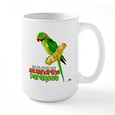 Alexandrine Parakeet Mug
