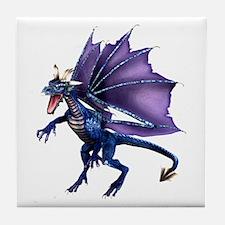 Blue Dragon Tile Coaster
