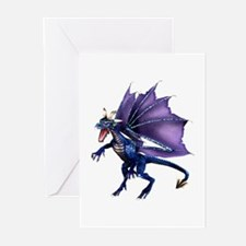 Blue Dragon Greeting Cards (Pk of 10)