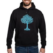 TREE hugger (teal) Hoodie