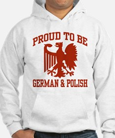 Proud German Polish Hoodie