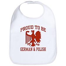 Proud German Polish Bib