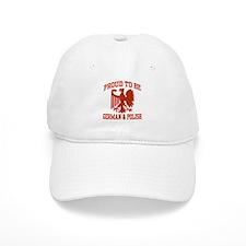 Proud German Polish Baseball Cap