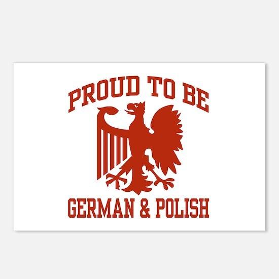 Proud German Polish Postcards (Package of 8)