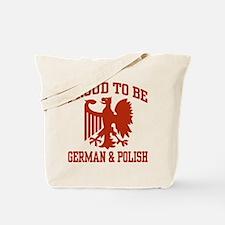 Proud German Polish Tote Bag