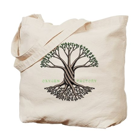 Oxygen Factory Tote Bag