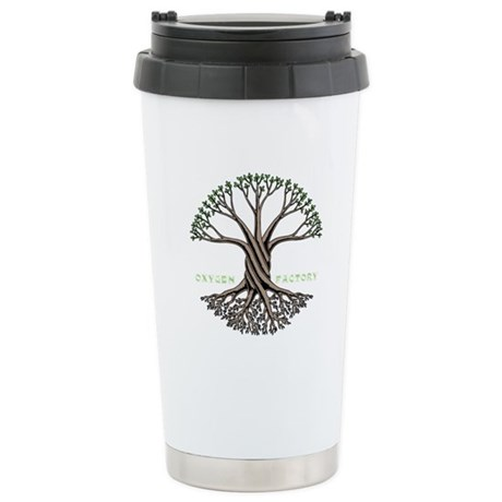 Oxygen Factory Stainless Steel Travel Mug